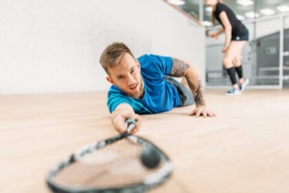 Najczęstsze kontuzje w squashu